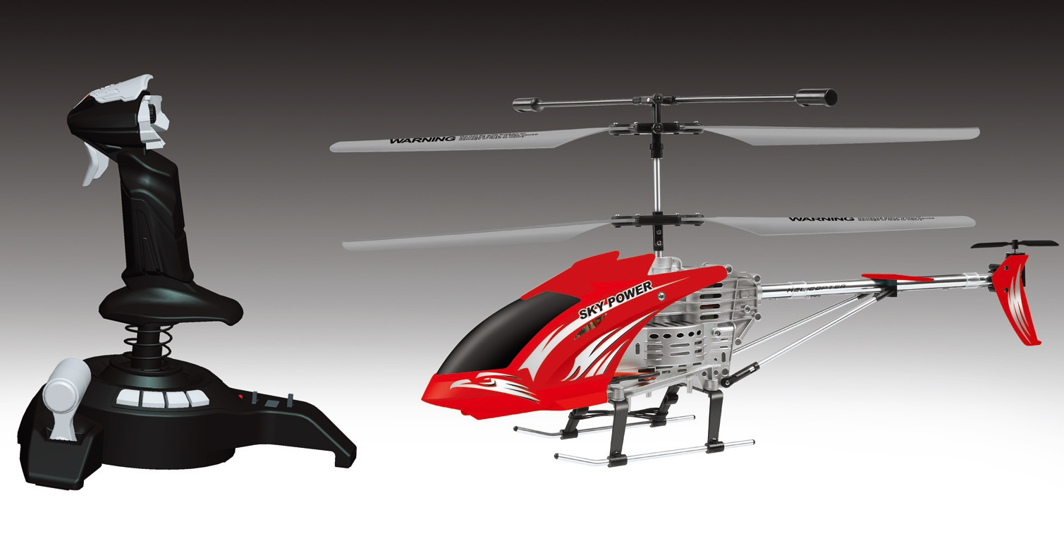 2.4G 3.5CH simulation console helicopter