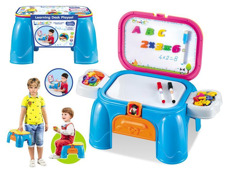 Writing desk / writing brush learning desk playset