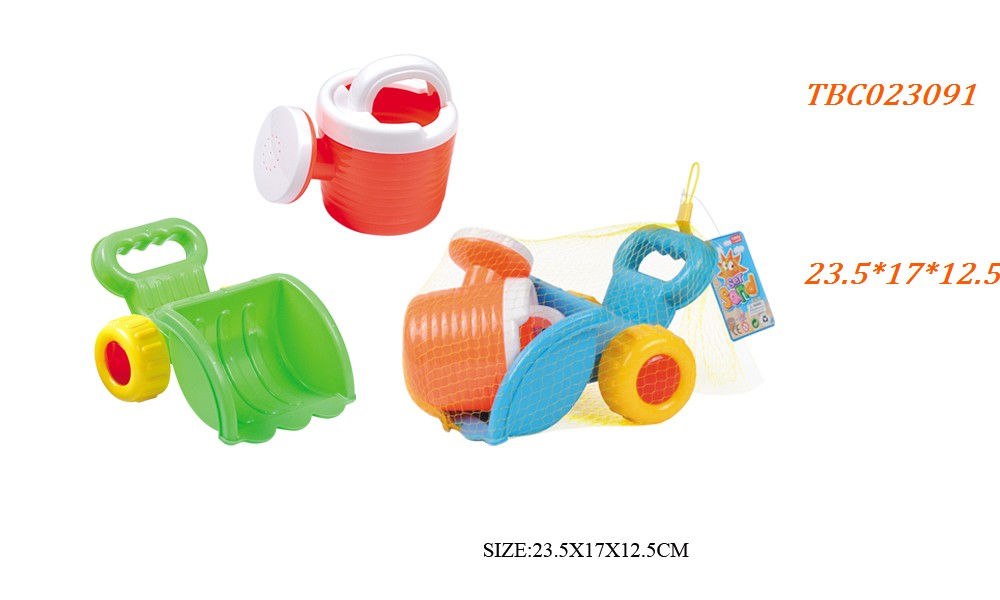 Hand push forklift combination Beach Toy set