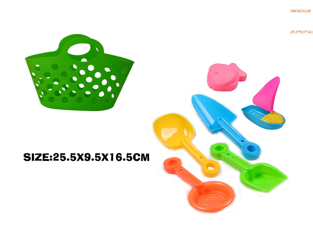 Hand basket Beach Sand Toys play set