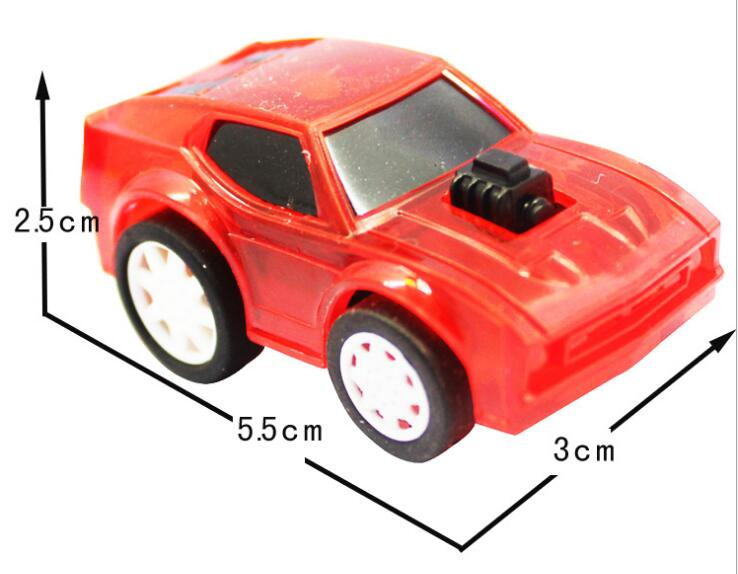 5cm Mini pull back car