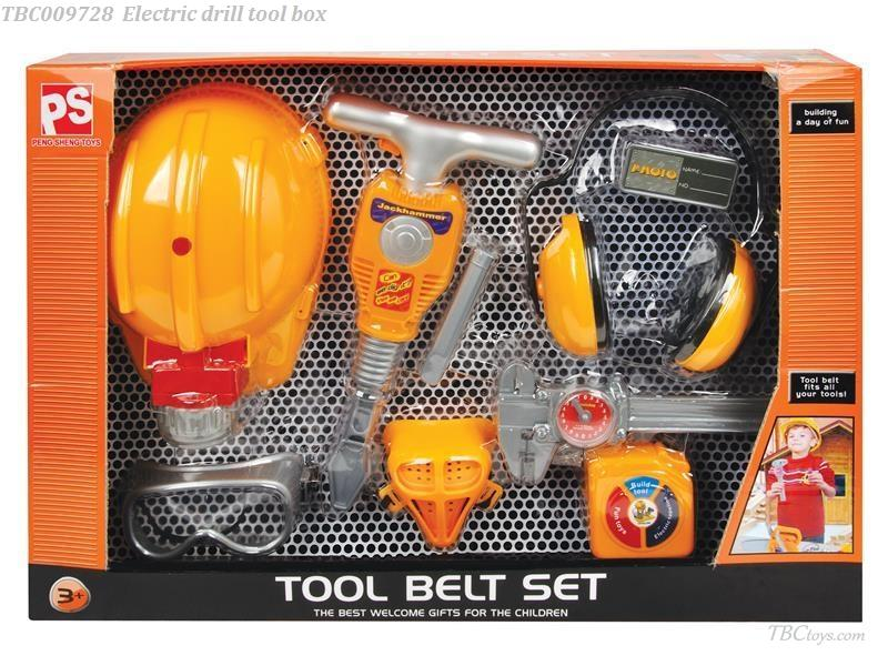 Kid play tool set