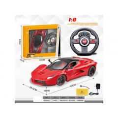 Hot Selling Remote control car  RC simulation car (ferrari - rafa)
