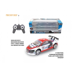 Hot Selling PVC RC Car 5CH RC Car 1:14 High Speed RC Car