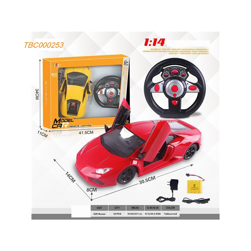 1 14 4wd Rc Racing Car 2 4ghz Radio Control Frequency 1 10 Remote