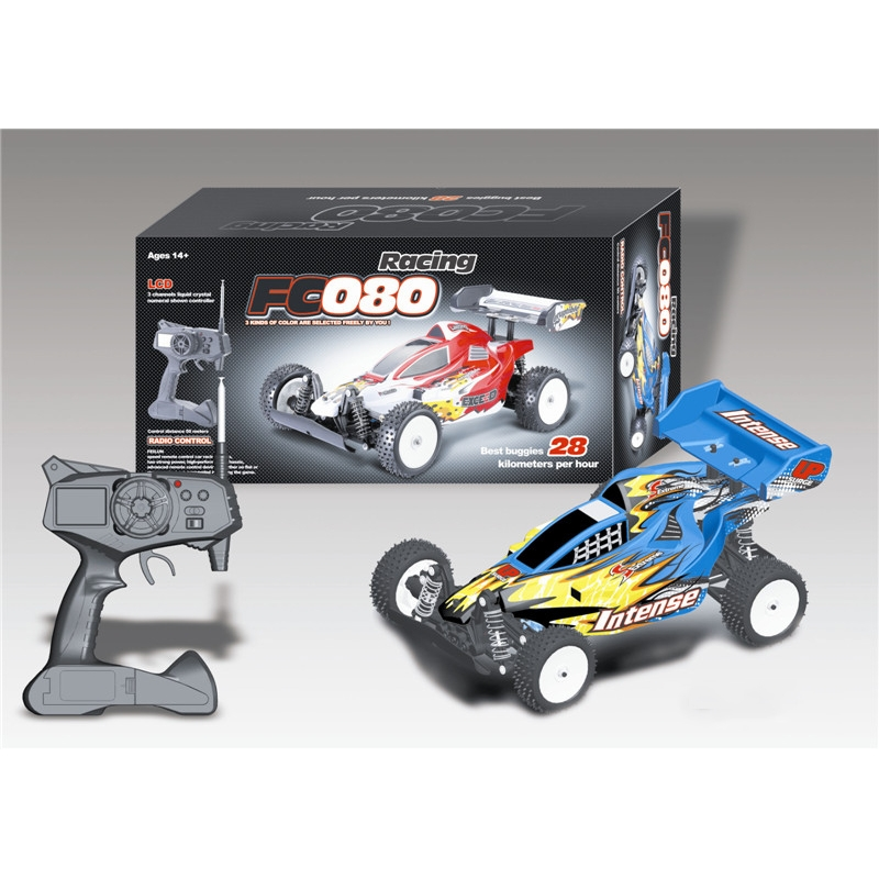 New style Scale 1 to 10 digital cross-country model car