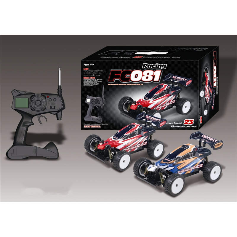 Newest Scale 1 to 16 digital cross-country model car