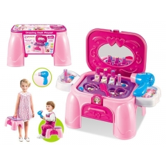 Hot sales Dressing storage and storage of hair dryer Dressing Desk playset