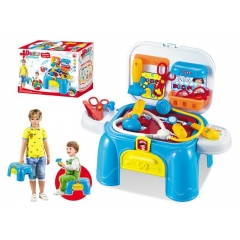 Hot sales Medical storage desk Tool desk playset/Medical storage trunk doctor set suitcase