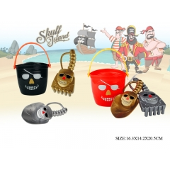 Pirate Plastic castle beach toy set