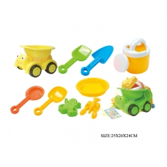 Beach Truck car Toys for Kids with Tool and Sand Mold