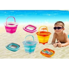 Soft Rubber Travel Foldable Beach Basket