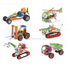 Metal building block toys