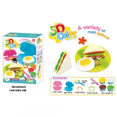5D colour dough