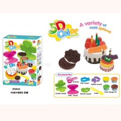 5D colour dough for kids